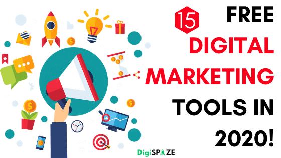 15. Free Marketing Tools