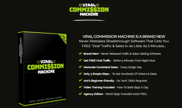 Viral Commission Machine