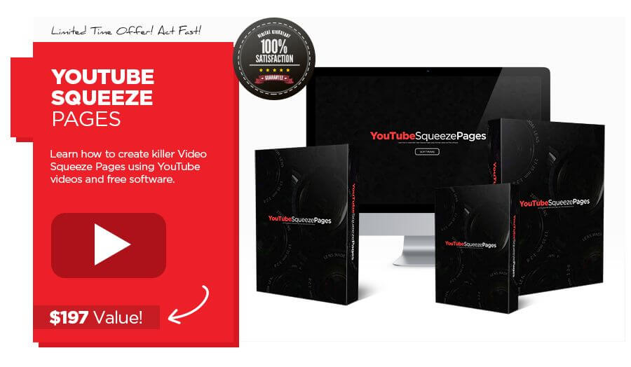 YouTube Squeeze Pages