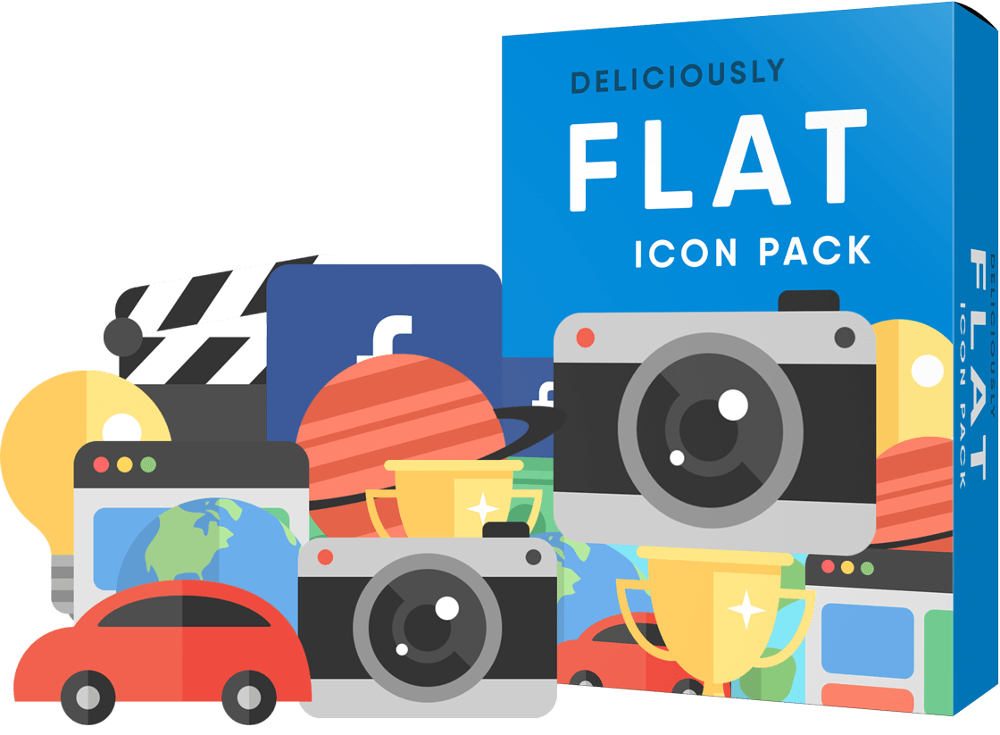 20-Diliciously-Flat-icon-Pack