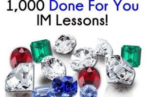 End Of Year Evergreen Gems Review: 1000 Done For You Im Lessons PLR