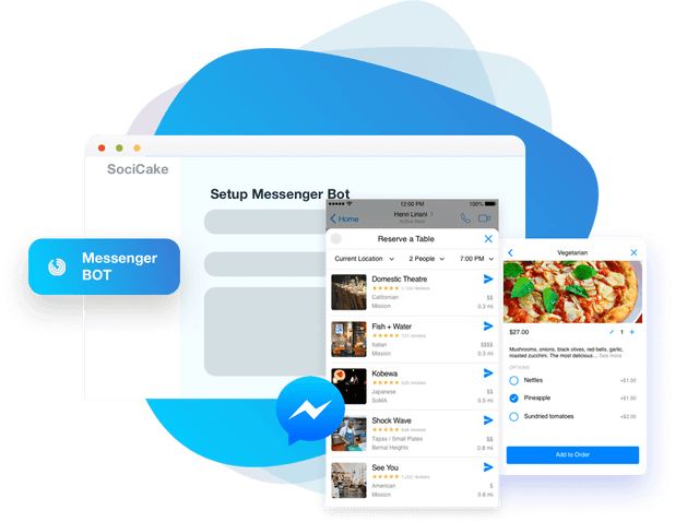 Messenger-Bot-Builder