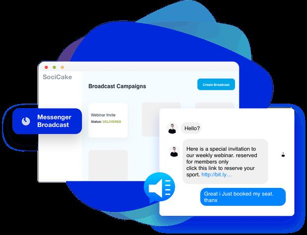 Messenger-Broadcasting