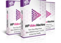 WP Video Machine Review – Turn Your Blog Posts Into A Video To Get Unlimited Traffic And Backlinks
