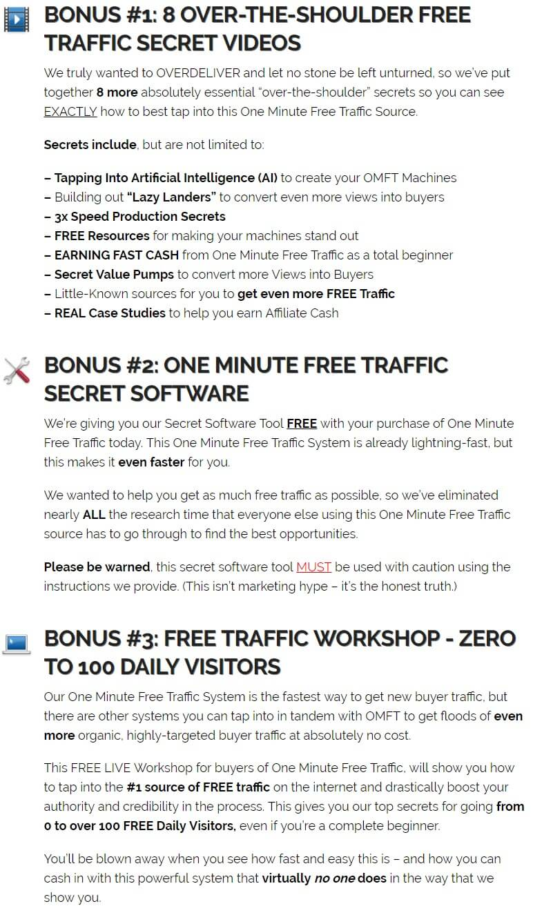 One-Minute-FREE-Traffic-Bonus