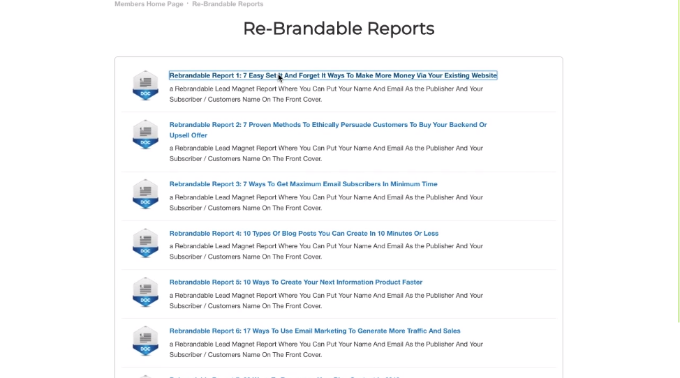 Reband.io review 4