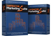 Contractor Marketing Suite Review – Offer 3 Premium Marketing Services For Contractors With This