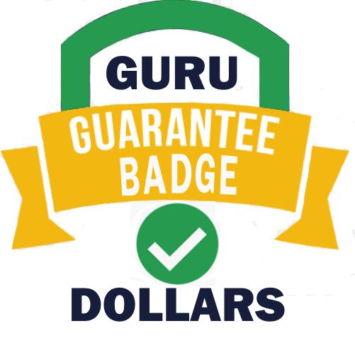 GURU-GUARANTEE-BADGE-DOLLARS-REVIEW-logo