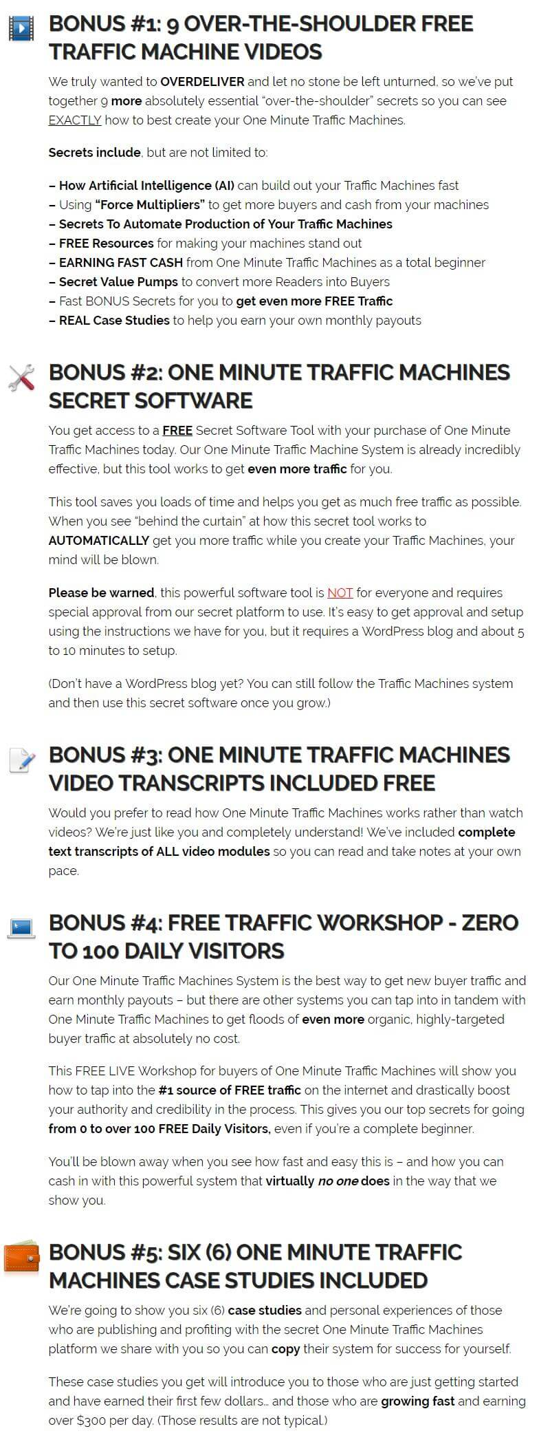 One-Minute-Traffic-Machines-Bonus