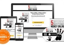 [PLR] VIDEO LEAD MAGNET PACKAGE REVIEW – 5 DIFFERENT WAYS TO MAKE MONEY ONLINE – A MONEY MACHINE TOOL YOU MUST HAVE