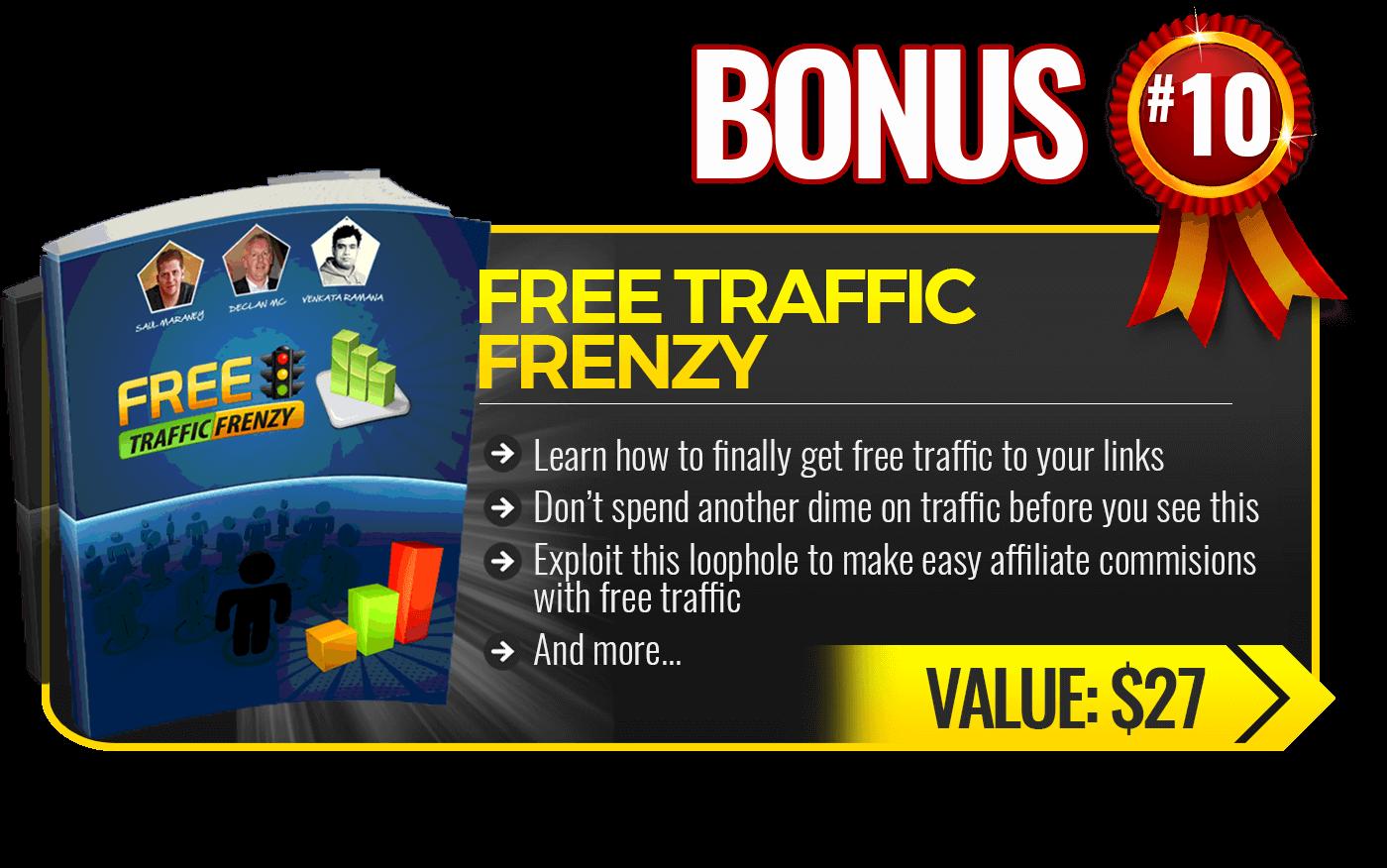 10. Free Traffic