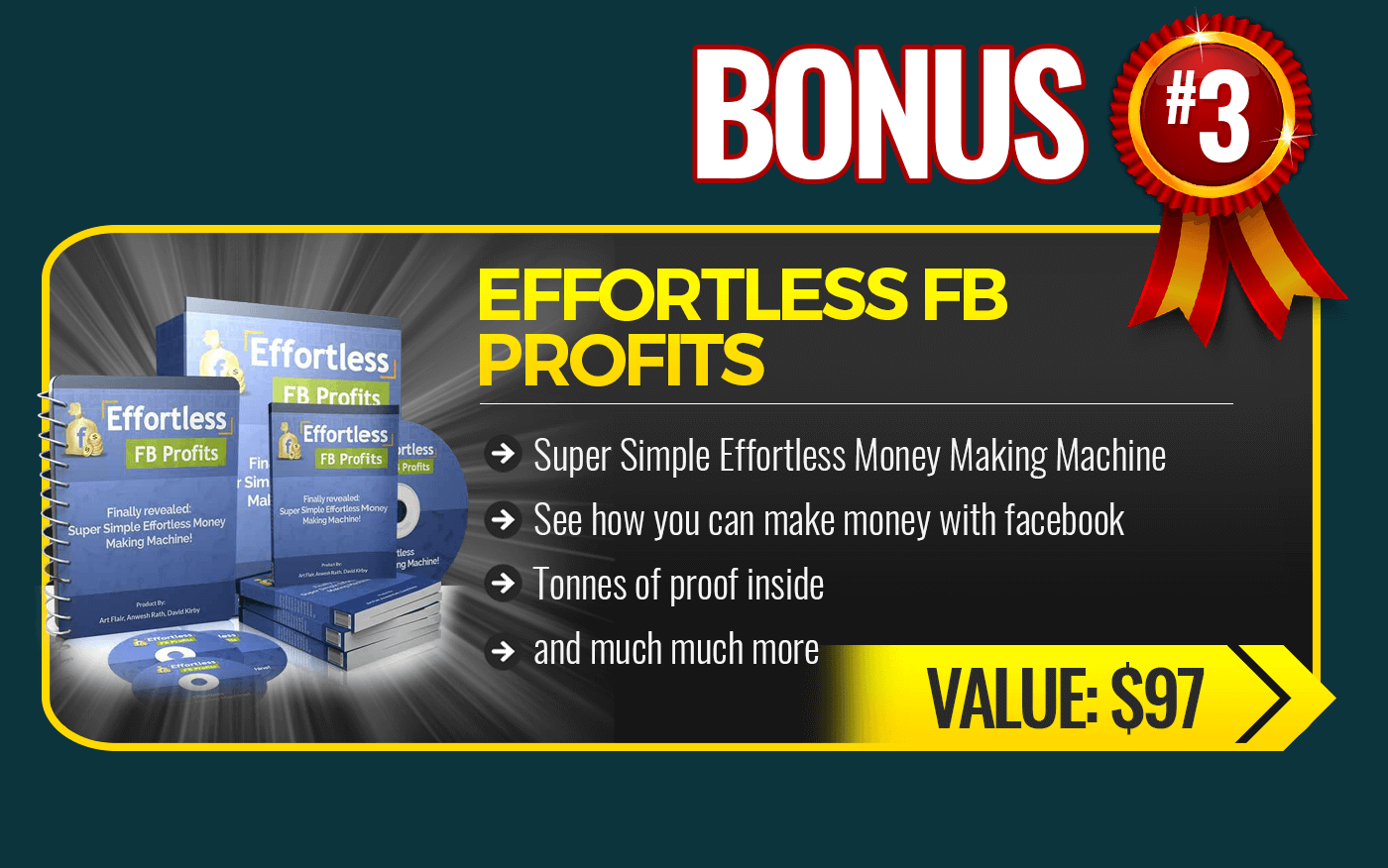 3. Effortless FB Profits