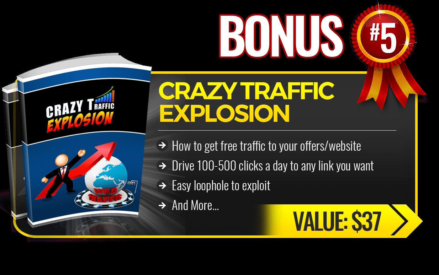 5. Crazy Traffic Explosion
