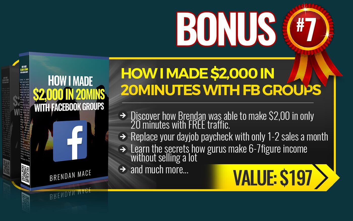 7. How I made $2000 In 20Mins With Facebook Groups