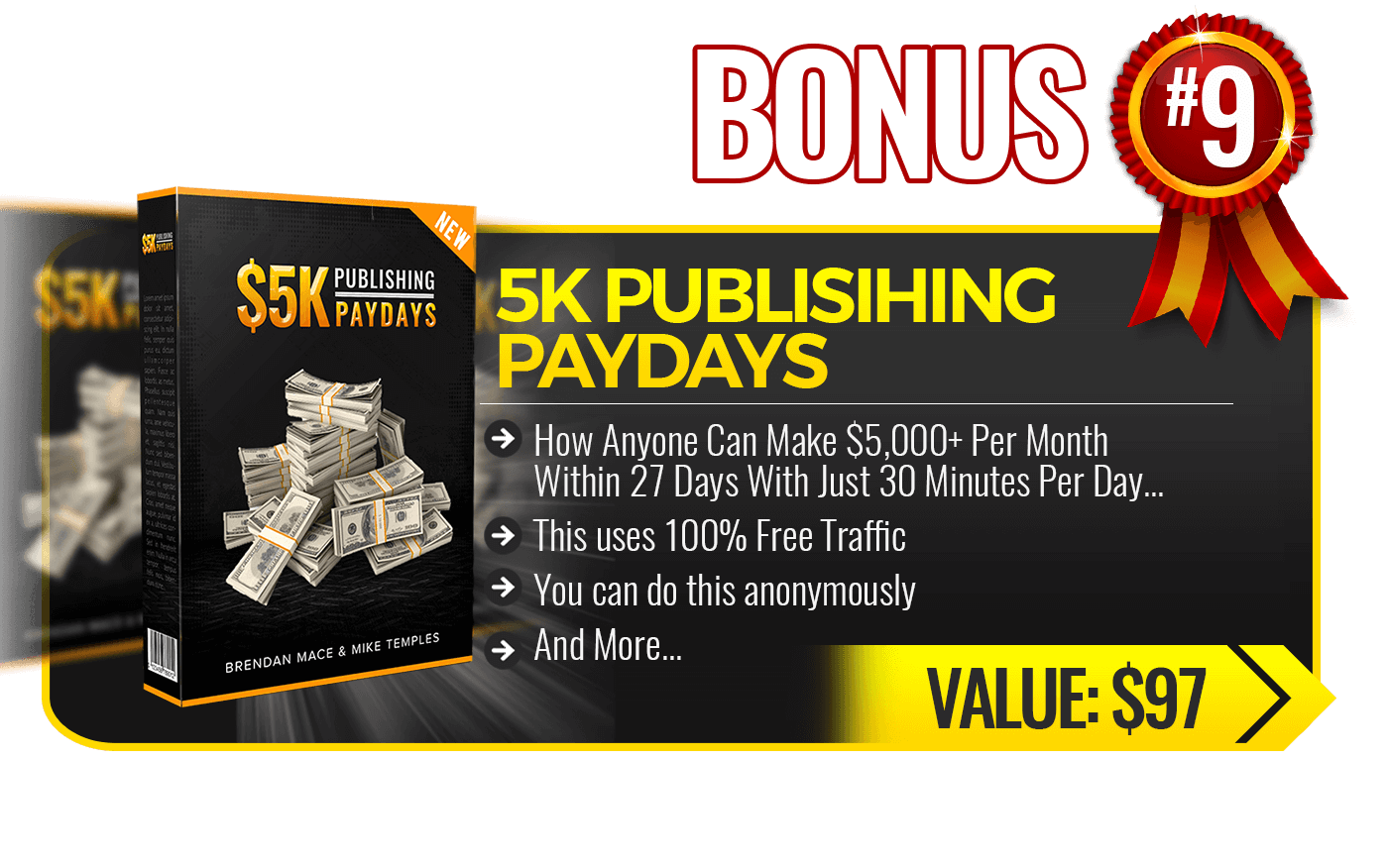 9. 5K Publishing Payday