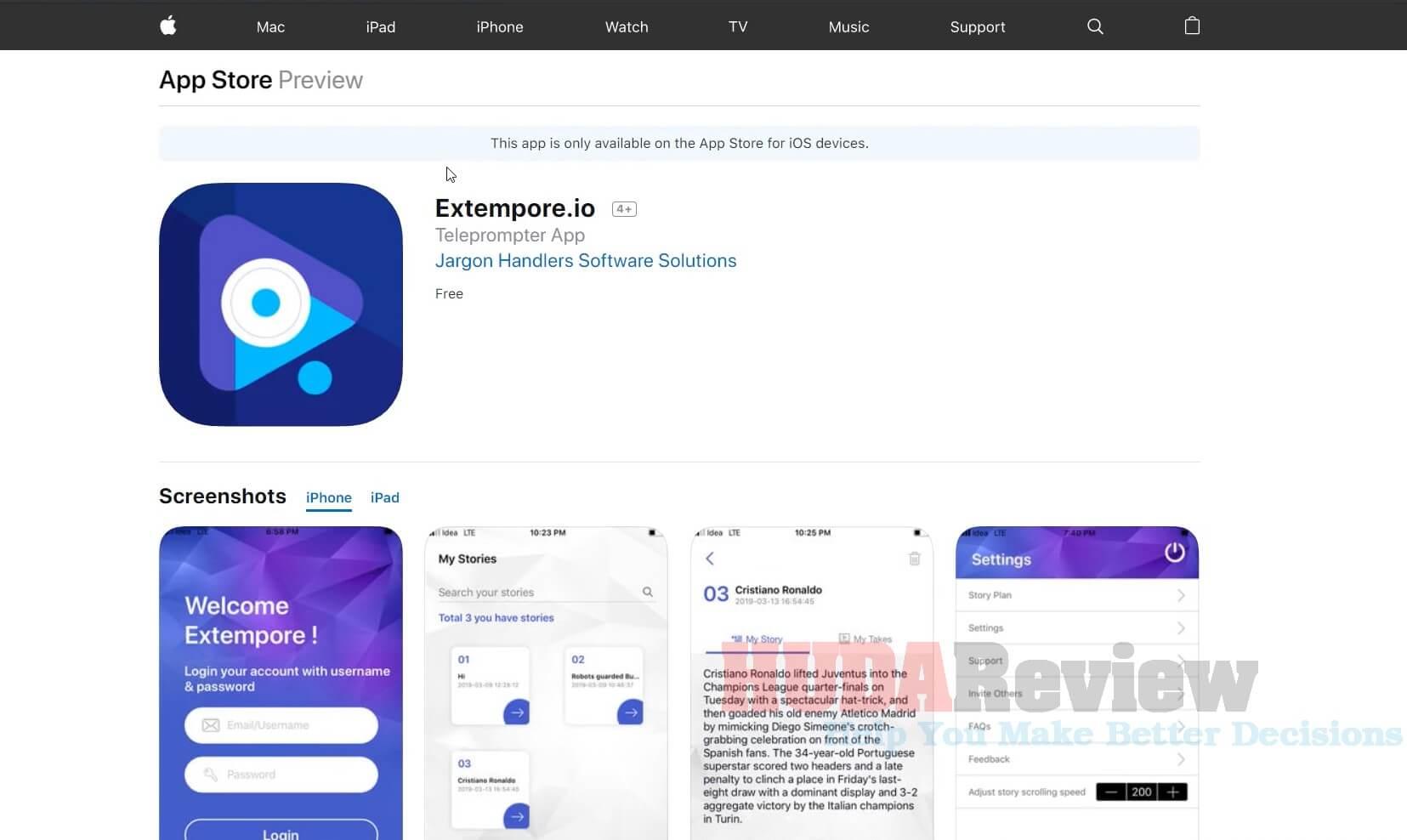 Extempore-Review-5