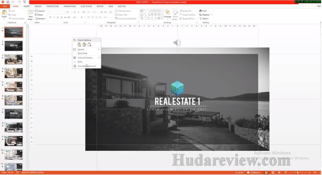 Showcase-Real-Estate-Review-Step-1