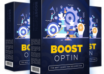 Boost Optin Review – A Breakthrough That Will Finally Help You Grow A Real List