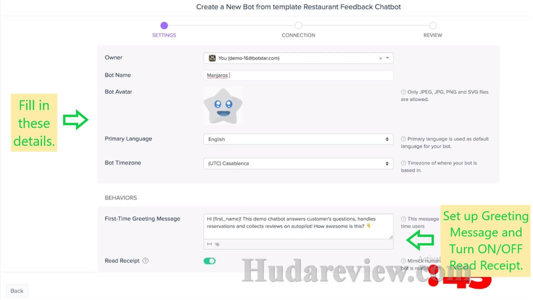 BotStar-Review-Step-3