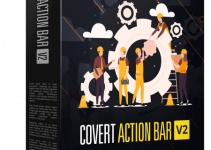 Covert Action Bar 2.0 Review – Getting An Insane Amount Of Clicks, Leads And Sales From Your Blogs