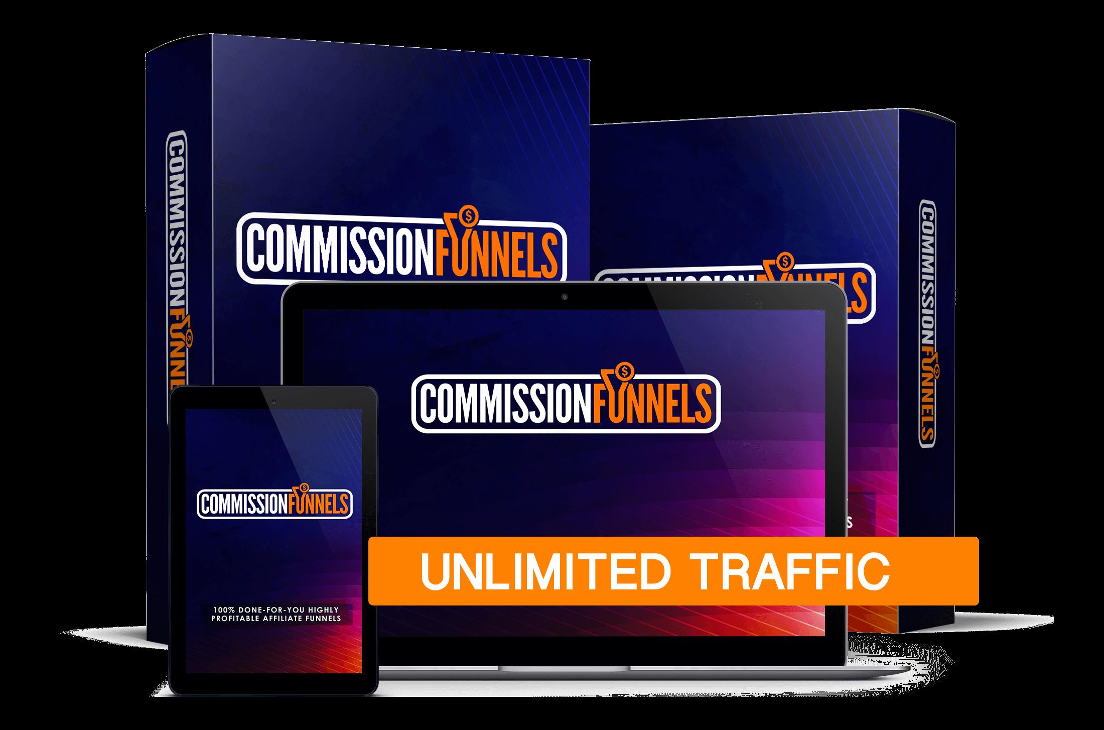 COMMISSION FUNNELS REVIEW: Massive Bonus+Discount+OTO+Demo