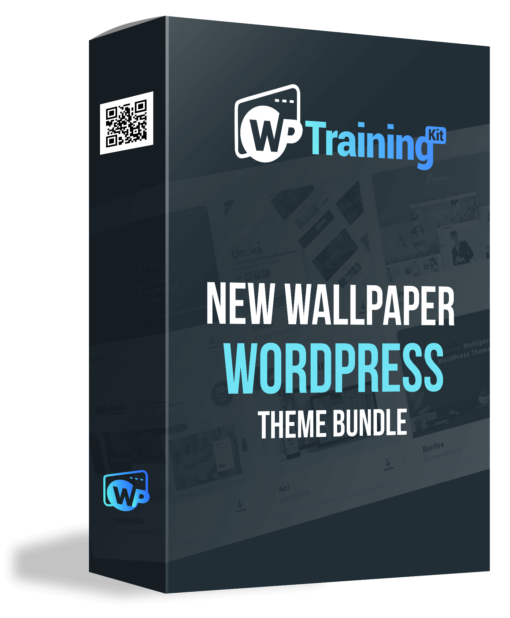 Bonus 3. New Wallpaper WordPress Theme Bundle Box Design