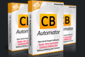 CB Automator Review – A WordPress Plugin To Successfully Launch Your Profitable Affiliate Sites In Minutes!
