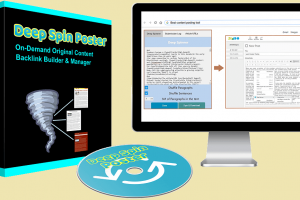 """Deep Spin Poster Review – New """"Block Spin"""" Poster For Better Articles And Backlinks"""
