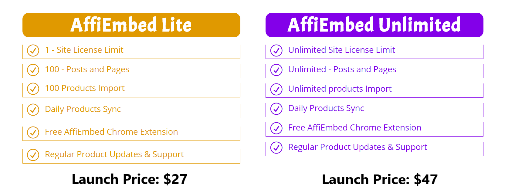 AffiEmbed-Review-Price