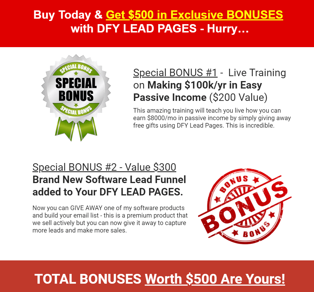 DFY-Lead-Pages-Review-Bonuses