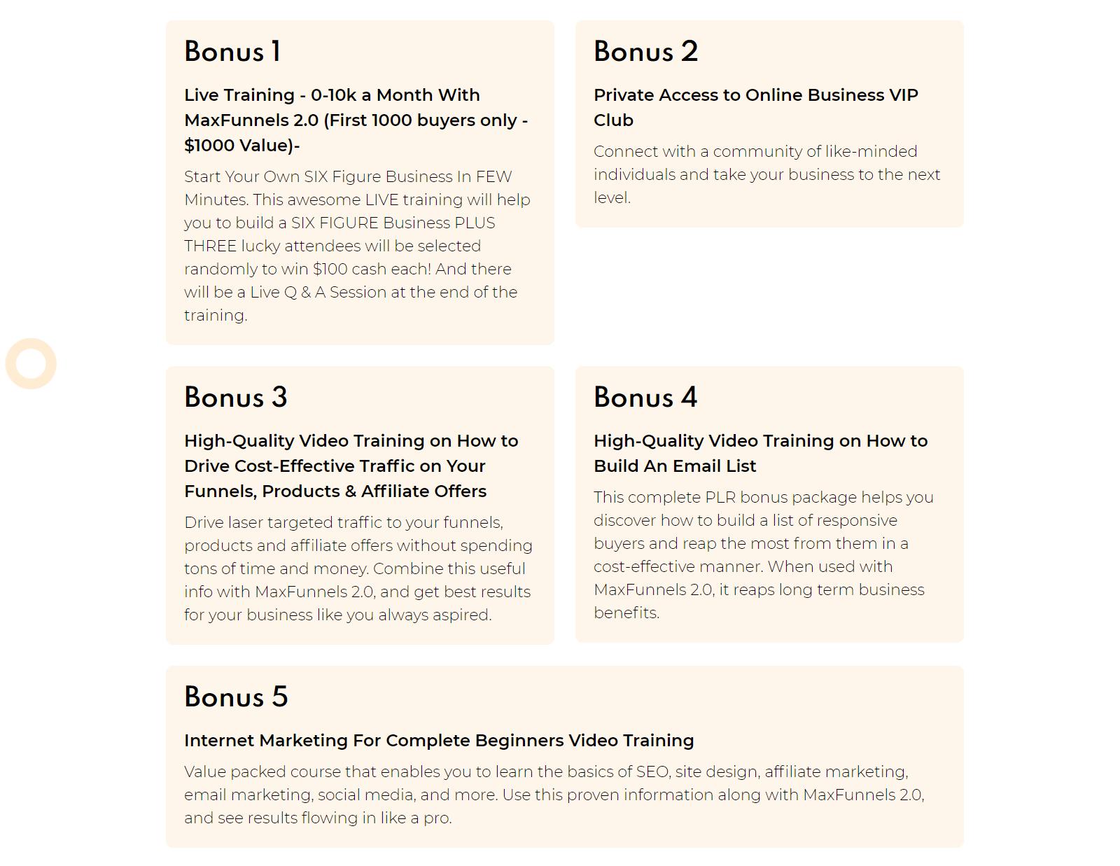 MaxFunnel-2-Bonuses