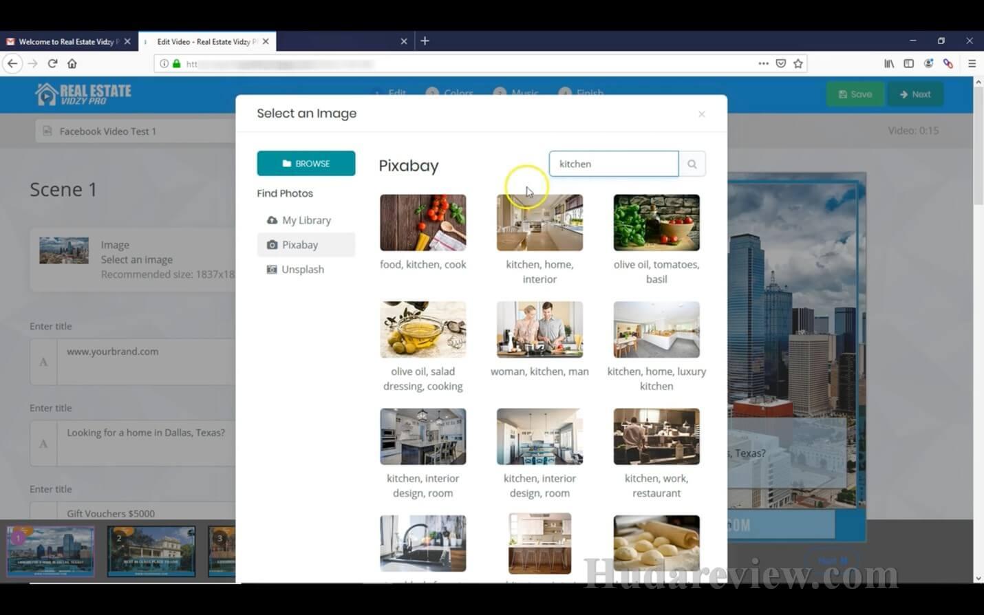 Real-Estate-Vidzy-Pro-Review-Step-1