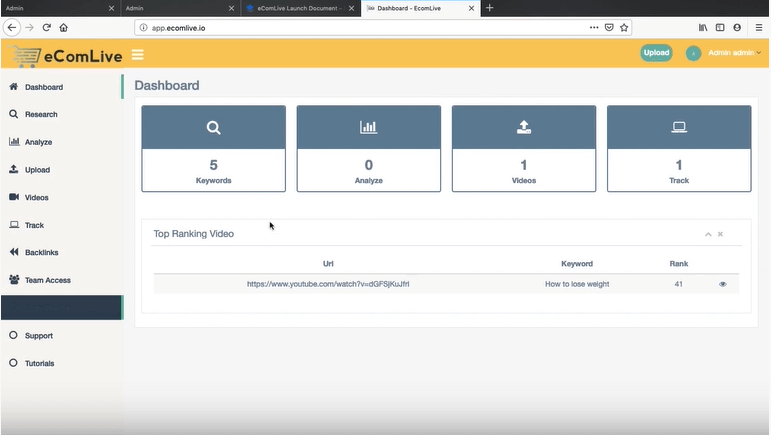 eComLive-Review-Dashboard