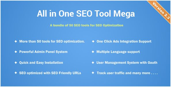 20. All in one SEO Tool Mega