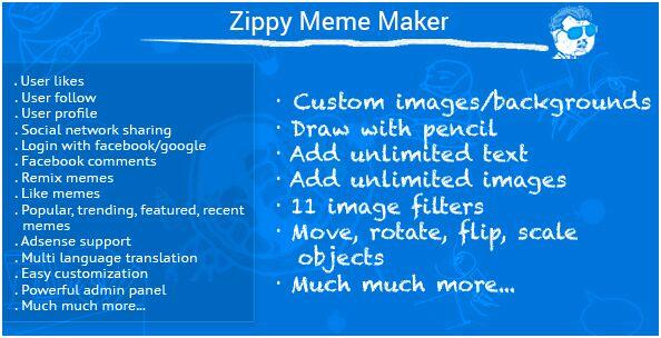 23. Zippy Meme Maker