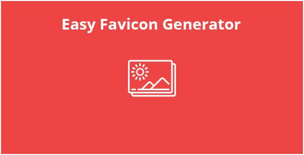 26. Easy Favicon Generator