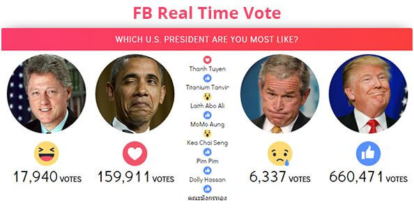 30. FB Real Time Vote