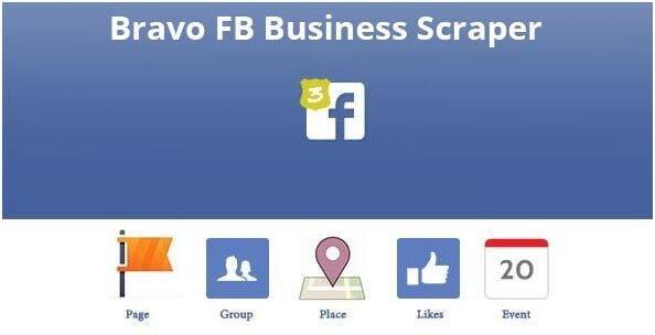 31. Bravo Facebook Business Scraper