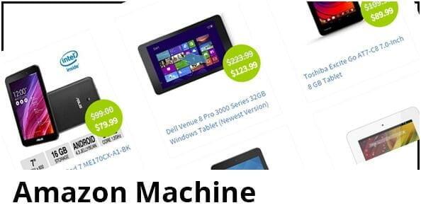 34. Amazon Machine Affiliate Site