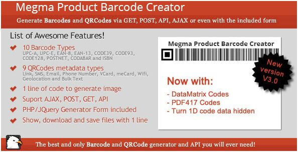 37. Megma Product Barcode Creator