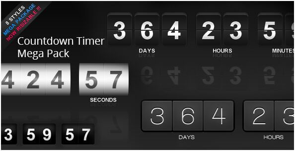 38. Countdown Timer Mega Pack