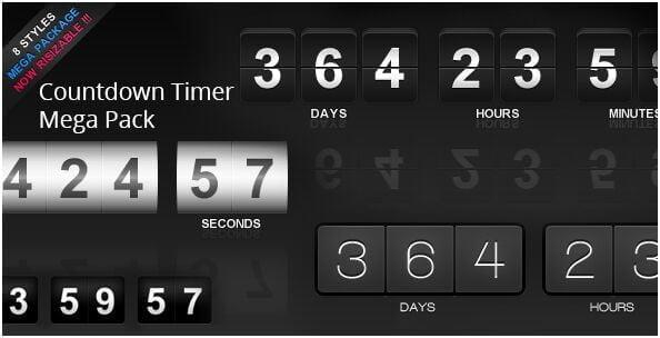 38. Countdown Timer Mega Pack