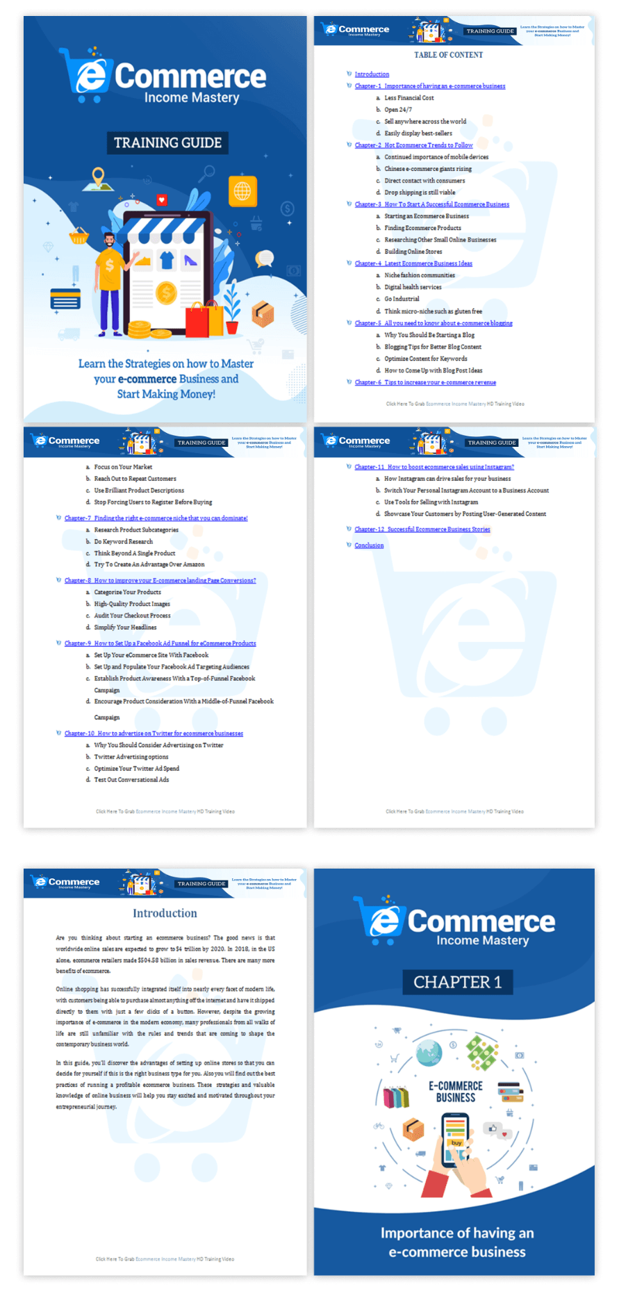 Ecommerce-Income-Mastery-Review-Module-1