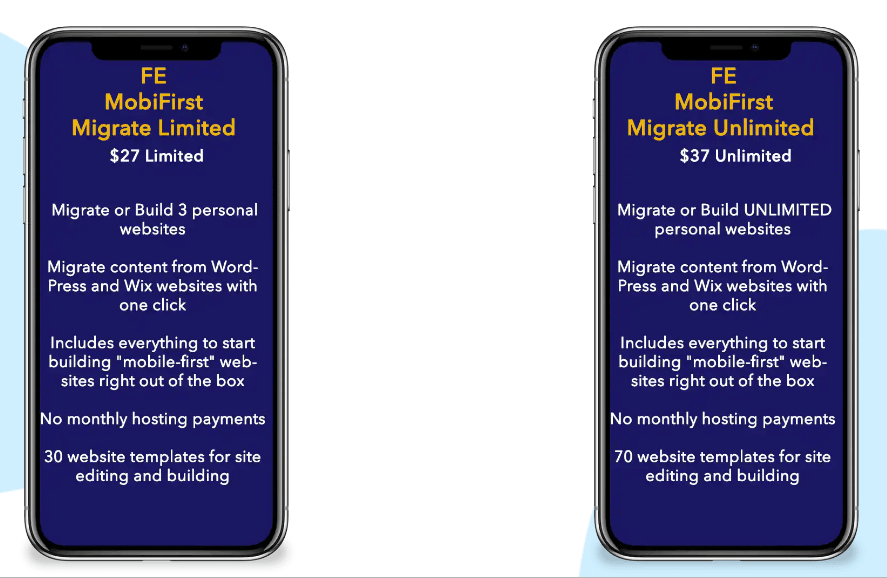 MobiFirst-Migrate-Review-Price