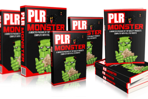 PLR Monster Review – Done-For-You High Quality Packages With PLR Rights