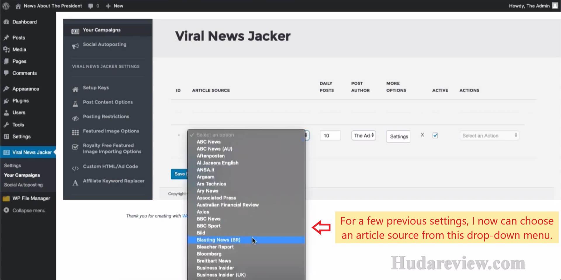 Viral-News-Jacker-Review-Step-2