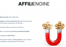 AFFILIENGINE REVIEW – 1 CLICK IS ALL YOU NEED FOR UNLIMITED SALES