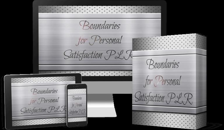 Boundaries-For-Personal-Satisfaction-PLR-Review