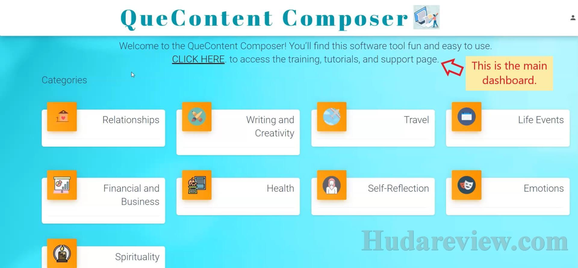 QueContent-Composer-Step-1