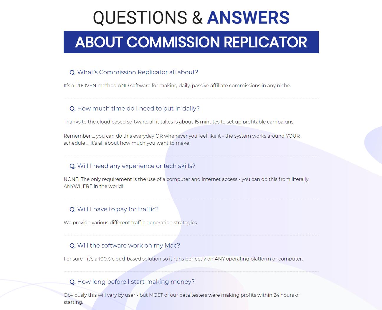 Commission-Replicator-Review-QA